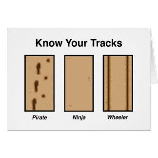 Tracks Cards