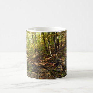 Tracks through the Woods Coffee Mug