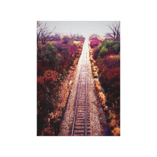Tracks to Neverland Canvas Print