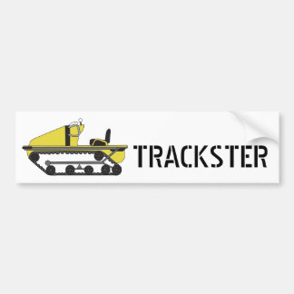 trackster, TRACKSTER - Customized Bumper Sticker