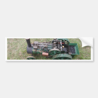 Traction Engine Model Bumper Stickers