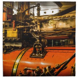Traction Engine Napkin