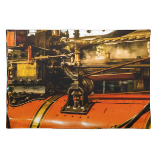 Traction Engine Placemat