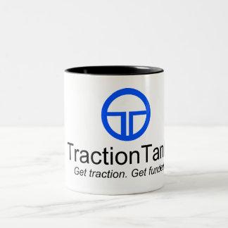 TractionTank Two-Tone Coffee Mug
