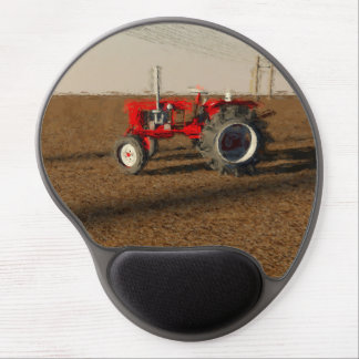 Tractor and territories of farming gel mouse pad