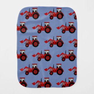 Tractor Burp Cloth