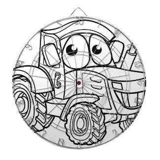 Tractor Cartoon Character Dartboard