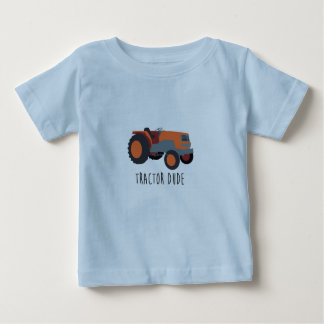 Tractor Dude Baby T-Shirt
