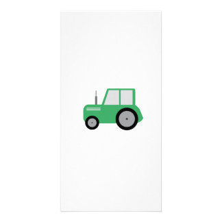 Tractor for Kids Personalised Photo Card