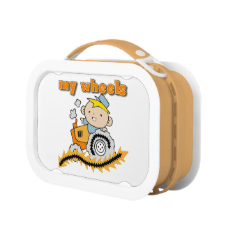 Tractor My Wheels Lunch Box