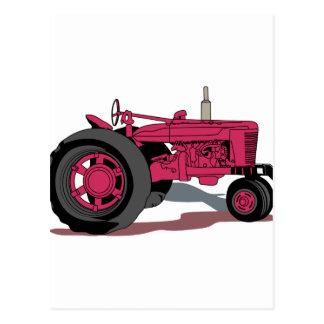 Tractor Postcard