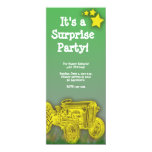 Tractor Surprise or Birthday Party Invitation