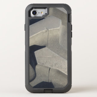 Tractor tire photo OtterBox defender iPhone 7 case