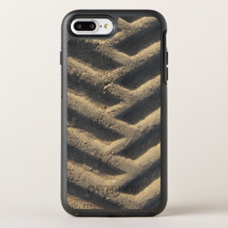Tractor tire tracks photo OtterBox symmetry iPhone 7 plus case