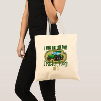 Tractor Tough 1st Birthday Tote Bag