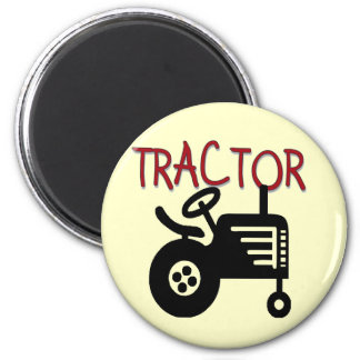 TRACTOR TShirts and Gifts 6 Cm Round Magnet