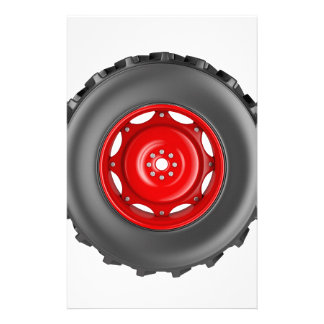 Tractor wheel stationery