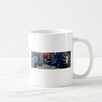 Tractor Wheels Coffee Mug