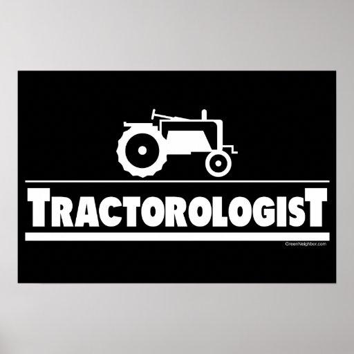 Tractorologist - Tractor Poster