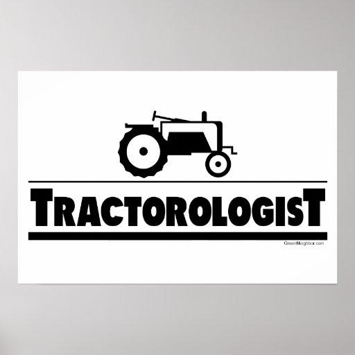 Tractorologist - Tractor Print