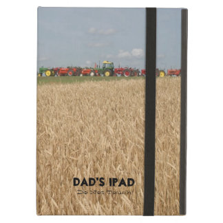 Tractors and Wheat Field Customisable Tablet Cover