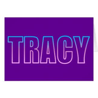 Tracy Card