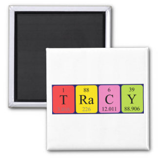 Tracy periodic table name magnet
