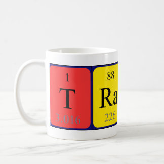 Tracy periodic table name mug