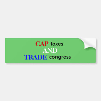 trade congress bumper sticker
