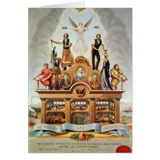 Trade Emblem of the Amalgamated Society Card