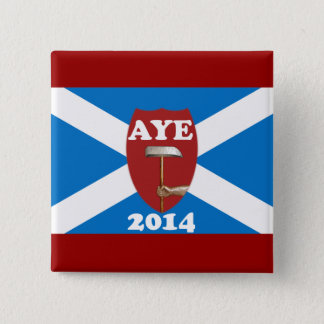 Trade Unionist Scottish Independence Flag Badge