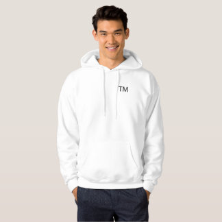 Trademark Men's Basic Hoodie -White