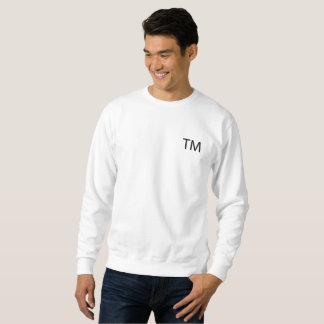 Trademark Men's Basic Sweatshirt -White