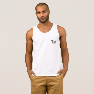 Trademark Men's Ultra Cotton Tank Top -White