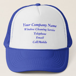 TRADES, WINDOW CLEANING TRUCKER HAT
