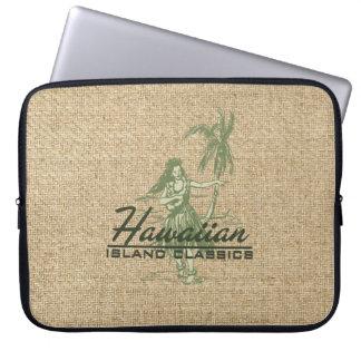 Tradewinds Hawaiian Hula Girl Neoprene Wetsuit Laptop Sleeve