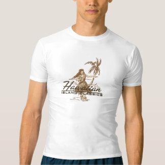 Tradewinds Hawaiian Island Hula Girl Rash Guard T-Shirt
