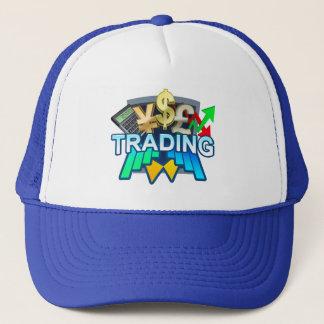 Trading blue Trucker Hat