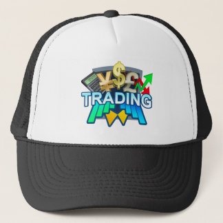 Trading dark Trucker Hat