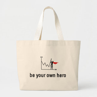 Trading Hero Jumbo Tote Bag
