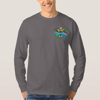 Trading Men's grey Long sleeve T-Shirt