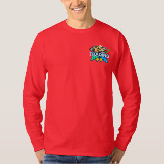 Trading Men's red Long sleeve T-Shirt