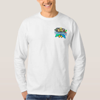 Trading Men's white Long sleeve T-Shirt