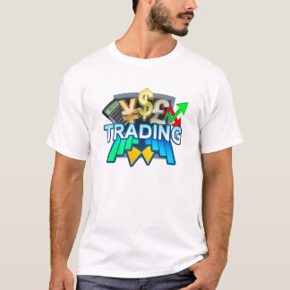 Trading Men's white T-shirt