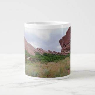 Trading Post Trail Rock Landmarks Large Coffee Mug