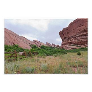 Trading Post Trail Rock Landmarks Photo Print