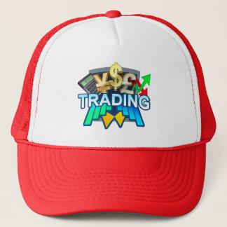 Trading red Trucker Hat