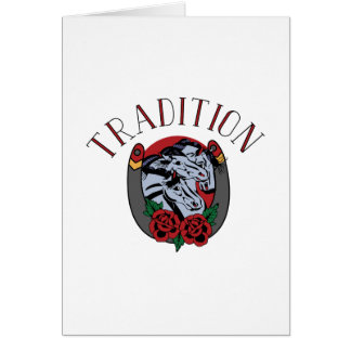 Tradition Card