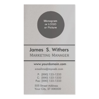 Traditional Add Photo or Logo Business Cards