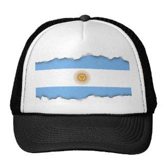 Traditional Argentina Flag Cap